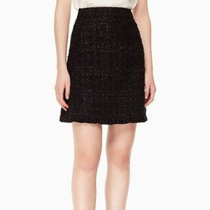Kate Spade sparkle black skirt size 14